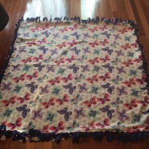 Other - Handmade fleece throw new